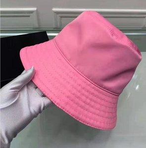 Mujeres Pescador sombrero invertido triángulo letras casual moda calle cuenca sombrero hombres japonés protector solar sombrero sombrero marea 2021