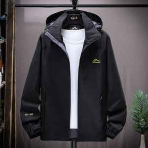 Men's Trench Coats Men Bomber Jacket Casual Coat Mens Tactical Outwear Sports Cycling Hiking Windbreaker Male Winter Hooded Mountaineering O