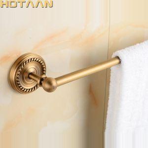 Toalleres Toalls Tenedor de baño de latón antiguo, barra individual, bastidor sólido 30 / 40/45/50/60CM YT-12296