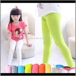 Tights Clothing Baby, & Maternity Drop Delivery 2021 Girls Girl Pants Arrive Candy Color Toddler Classic 2-13Y Children Trousers Baby Kids Le