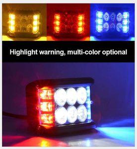 """LED Work Light Bar 4"""" 45W Car Cube Side Shooter Pod White Amber Strobe Lamp SUV Led Bar Driving Fog Off-road Bar Work Light Driving"""