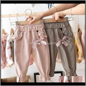 Leggings Tights Baby, & Maternity Drop Delivery 2021 Eachin Baby Girls 1-5 Years Children Fashion Pocket Trousers Kids Spring And Autummn War