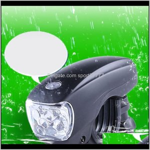 Bike Lights Bicycle Aessories Cycling Sports & Outdoors Drop Delivery 2021 Headlight For Head Light Front Handlebar Lamp Waterproof Led Aesso
