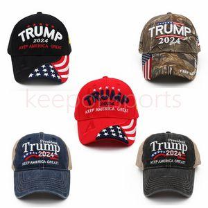 Trump Snapbacks قبعة بيسبول قبعة التطريز القطن الولايات المتحدة الانتخابات الرئاسية تبقي أمريكا الرئيس الكبير ترامب 2024 الجمهوري كاج ماجا للرجال