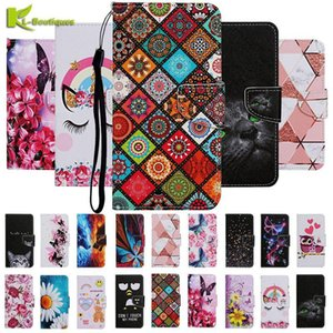 Case For OPPO A31 A92 A12 A5 A9 2021 A52 A3S A5S A72 F11PRO A12E Realme 5 5i 6i Pro C11 6 C3 C2 C1 Reno 2F Wallet Leather Cover Cell Phone C