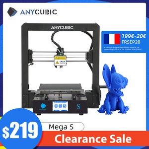 ANYCUBIC Mega S Mega-S 3d Printer Plus Size Printing Platform Full Metal Frame High Precision FDM 3d printer kit impresora 3d