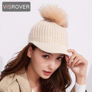 Ball Cap Winter Hat For Women Brand Thick Female Visors