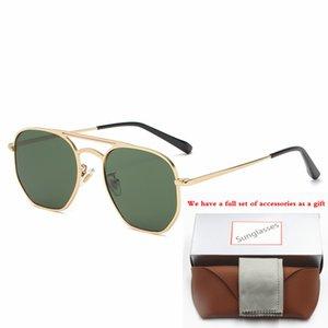 3609 Fashion Sunglasses toswrdpar Eyewear Sun Glasses Designer Mens Womens Brown Cases Black Metal Frame Dark 58mm Lenses For