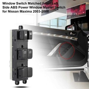 Window Switch Matched Front Left Side ABS 25401-7Y010 Power Window Master Switch for Infiniti 2003-2008