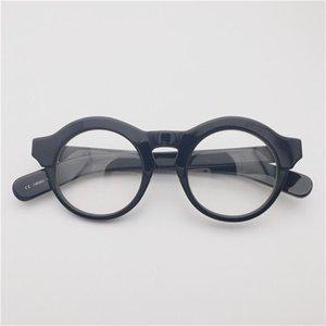 VazRobe Óculos redondos frames masculinos nerd nerd óculos homens espessas acetato espetáculos lente miopia lente prescrição óptica moda sung