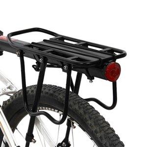 Carrier de equipaje de bicicletas Asiento de carga Post Portador Trasero Fender Aleación de aleación Frame Portador Monte Bicicleta Pannier Rack 1046 Z2