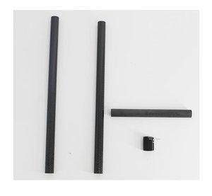 Kayık Kürek Alüminyum Ferrule Ayarlayıcı ve Karbon Fiber Mil Raftları / Şişme Botlar