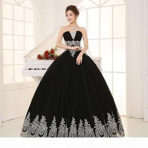 Черный с серебряной кружевной вышивкой бисером вуаль бальное платье средневековая ренессанс платье викторианской Антуанетты колониальный Belle мяч.