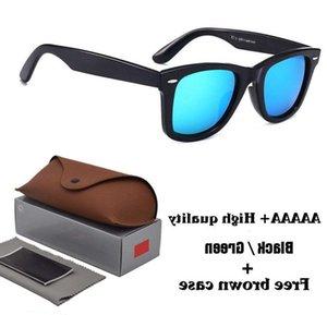 Moda Güneş Çerçeveleri Tasarımcısı için 1 adet Moda Güneş Gözlüğü Mükemmel Erkekler Kadınlar Marka Sun UV400 Gözlük Klasik Gözlük Kılıflar ve Kutu
