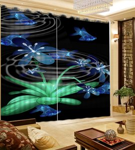 2021 3D Creativity Curtain Blackout For Living Room Bedroom Drapes Cortains Windows Wall Decor