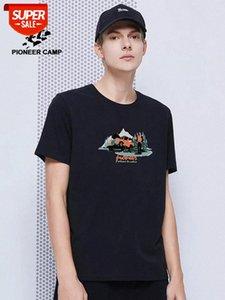 t-shirt drop shipping t shirt men summer 100% cotton solid mens casual tshirt male short sleeve plus size 4XL Party #mW5K