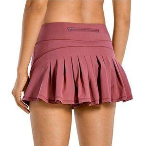 Laamei Women Sports Tennis Skirts Golf Fitness Shorts High Waist Athletic Running Short Pleated Sport Skort Poet Mini Skirt