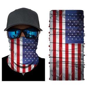 Masks Bandanas DHL Scarf Ship Neck US Magic Flag Motorcycle Bicycle Half Face Mask Headband Fishing Scarf Bandanas FY6282 610