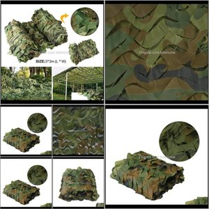 Hiking Sports & Outdoors Drop Delivery 2021 X Camping Camouflage Net Camo Shelter Woodland Jungle Leave For Car Shade Cover Mesh Network Tent
