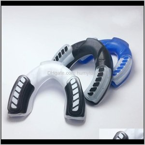 Protective Gear Fitness Supplies Outdoors Drop Delivery 2021 Professional Sports Mouthguard Mouth Cap For Boxing Basketball Guard Gum Shield