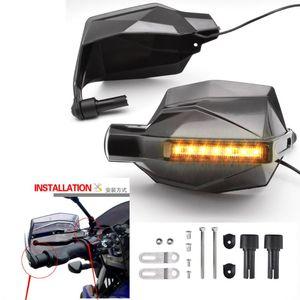 الفرامل دراجة نارية ل c400gt c600 c650 c650gt f650gs f700gs f800r f700xr اليد حراس موتوكروس handguards مع بدوره إشارة الضوء