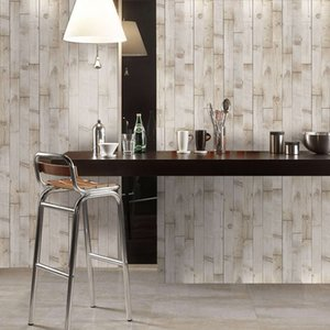 AMJ Simulation Original Holzkorn Wallpaper Kleber frei Selbstadhive Wohnzimmer Dekorative Boden Fliesenpaste Badezimmer Dauerhafte feuchtigkeitsdichte
