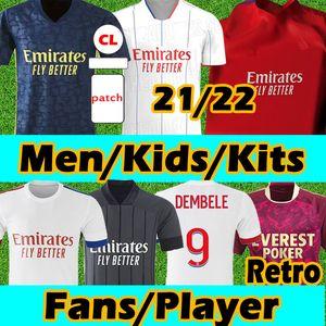 20 21 Maillot Lyon Player Версия 2020 2021 Olympique Lyonnais Soccer Jersey Maillot De Foot Ol Футбольные рубашки Trave Memphis Men Kids Kits
