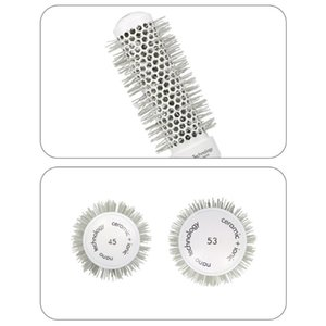 Hair Brushes Anti-Static Comb Detangling Round Brush Styling Curling Straightening Tools For Salon Home Use