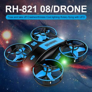 Drones Remote Controller Quadcopter Mini UFO Drone 360 Degree Flip Throw To Gesture Control Altitude Hold Children Toy Gift