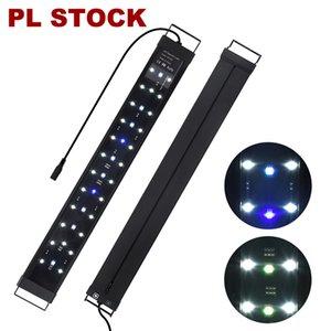 Stylish ultra thin LED Aquarium Light Full Spectrum Freshwater Fish Tank Plant Marine Lights AC110-240V AC Adapter