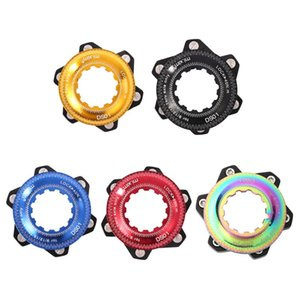 Bike Locks Centerlock To 6-hole Hub Disc Center Lock Conversion Durable Bicycle Brake Adapter For 6 Bolt Rotors MTB Accessories