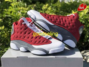 Shoes Release Authentic 13 Gym Red Flint Grey White Black 13s 3m Reflective Real Carbon Fiber Men Footwear Sports Sneakers Origina