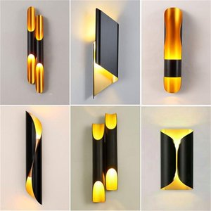 Wall Lamps BROTHER Nordic Simple Sconces Light Modern LED Lamp Fixtures For Home Corridor Stairs Decoration