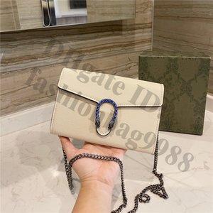 Luxury Designers Women Flap Crossbody Shoulder Hand Bags Real Genuine M size 23 CM Ladies Brand Chains Cross Body Handbags Lady Fashion Small Square Bag