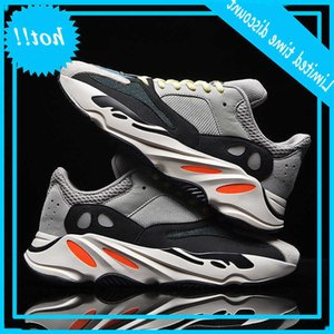 Fashion big size coconut 700 men's father's thick soled reflective women's Kan Ye same pair sports shoes