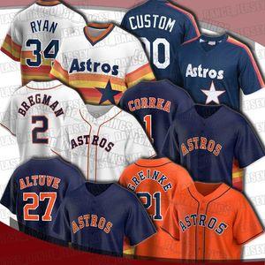 Astros 2 Alex Bregman 27 Jose Altuve Jersey Houston 21 Zack Greinke 44 Yordan Alvarez Jerseys Myles Stroh Yuli Gurrriel Kyle Tucker Maldonado