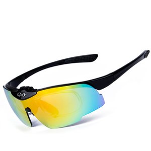 Wholesale DHL Ship ping Sports Polarized Sunglasses Mens Sun Glasses Womens Cycling Glasses Mountain Bike Fishing Running Hiking Golf Eyewear, 7 Kinds of Colors