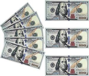PROP MONEY 1: 1 поддельные деньги доллар долларовые купюры бумаги напечатанные евро Билл партии для детей играть игрушки рождественские подарки или видео фильм