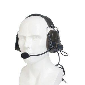 Tactical Earphone Headphones Peltor Comtac II 6th Circuit Board 2 Modes Tacticals Headset For Walkie-talk Softair Z041
