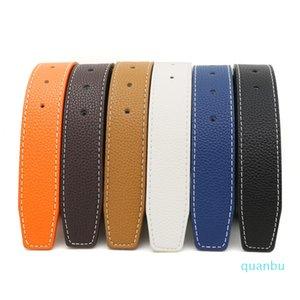Luxury Designer Belts Men Women Belts of Mens and Women Belt with Fashion Big Buckle Real Leather