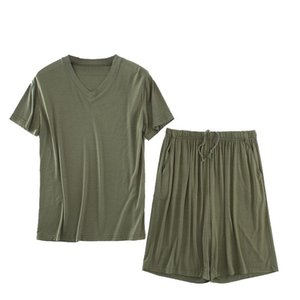 Summer Pajama Sets Men Peso 140KG 8XL 7XL 6XL 5XL Plus Size Sleepwear Uomo