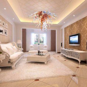 Modern LED Crystal Chandelier Lamp Pendant Lights with Lamps Customized for Hotel Living Room Home Decor