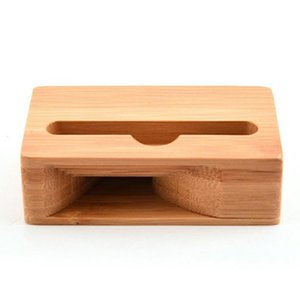 Cell Phone Mounts & Holders Sound Universal Bamboo Mobile Holder Stand Cellphone Loudspeaker Stylish Hip And Modern