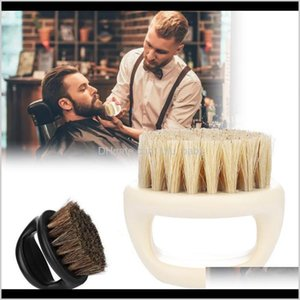 Other Hair Cares Wild Boar Fur Soft Men Beard Shaving Barber Salon Facial Cleaning Shave Tools Razor Brush With Handle Styling Accesso Pbmra