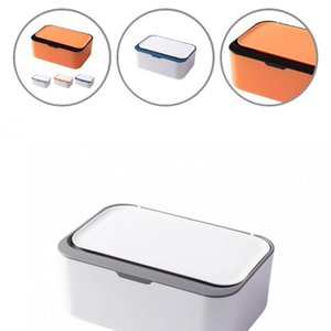 Tissue Boxes & Napkins Rectangle Durable Baby Wipes Paper Dispenser Napkin Case PP Wet Box Multi-functional Home Decor