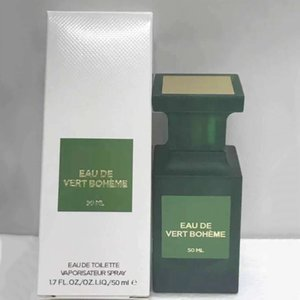 Бренд Perfume Vert Boheme EDT 50 мл Ароматизатор Хороший запах с длительной последней емкостью высочайшего качества быстрого корабля