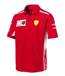 F1 Racing Ferrari Racing Suit Quick-Dry Top Top Motorcycle Racing Polo рубашка