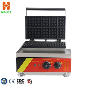 NP-533 Commercial waffle maker machine Electric Non-stick Waffle Maker Snack Food Machine with promotion price