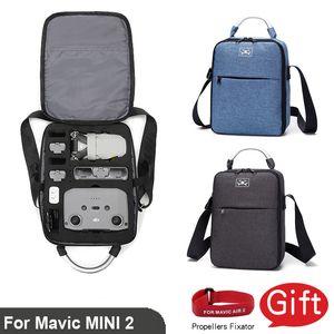 For Dji Outdoor Travel Shockproof Shoulder Bag Backpack Mavic Mini 2 Body Remote Control Storage Box Case