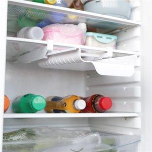 Organizer For Refrigerator Storage Rack Household Bag Rail Punch-Free Hanging RT88 Hooks & Rails